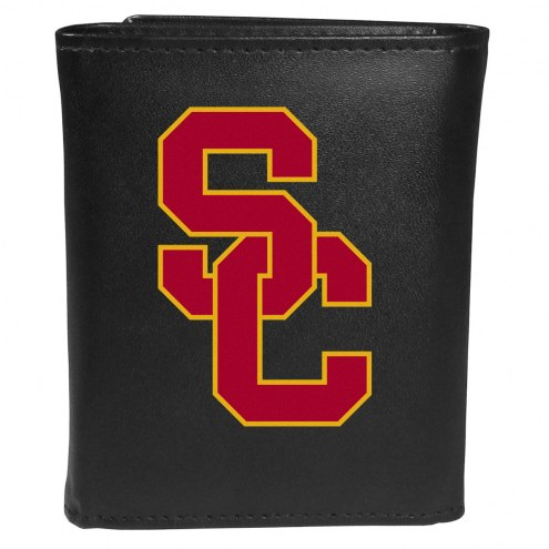 USC Trojans Large Logo Tri-fold Wallet