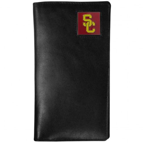 USC Trojans Leather Tall Wallet