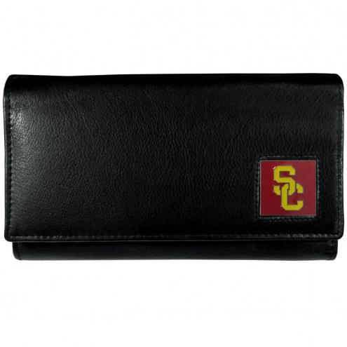 USC Trojans Leather Women's Wallet