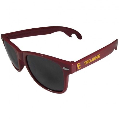 USC Trojans Maroon Beachfarer Bottle Opener Sunglasses