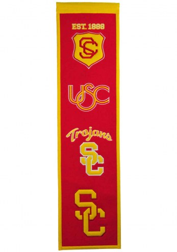 USC Trojans NCAA Heritage Banner