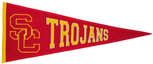 Winning Streak USC Trojans NCAA Traditions Pennant