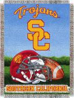 USC Trojans NCAA Woven Tapestry Throw Blanket