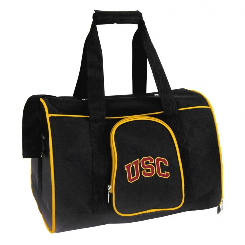 USC Trojans Premium Pet Carrier Bag