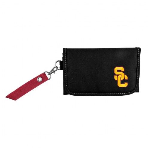 USC Trojans Ribbon Organizer Wallet