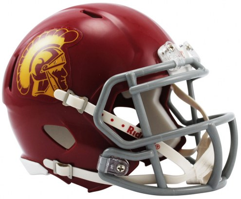 USC Trojans Riddell Speed Mini Collectible Football Helmet
