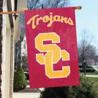 USC Trojans - SC NCAA Applique 2-Sided Banner Flag