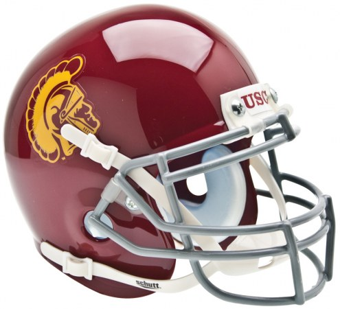 USC Trojans Schutt Mini Football Helmet