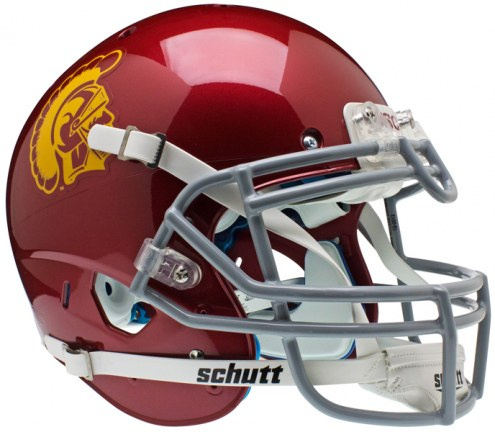 USC Trojans Schutt XP Authentic Full Size Football Helmet