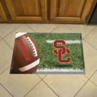 USC Trojans Scraper Door Mat