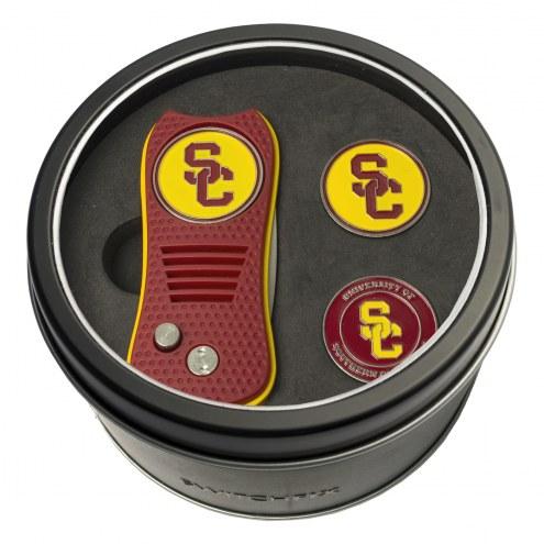 USC Trojans Switchfix Golf Divot Tool & Ball Markers