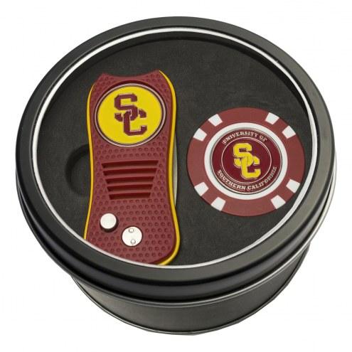 USC Trojans Switchfix Golf Divot Tool & Chip