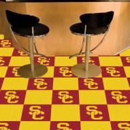 USC Trojans Team Carpet Tiles