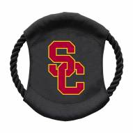 USC Trojans Team Frisbee Dog Toy