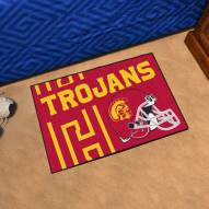 USC Trojans Uniform Inspired Starter Rug