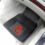 USC Trojans Vinyl 2-Piece Car Floor Mats