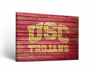 USC Trojans Weathered Canvas Wall Art