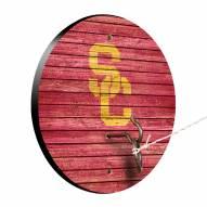 USC Trojans Weathered Design Hook & Ring Game