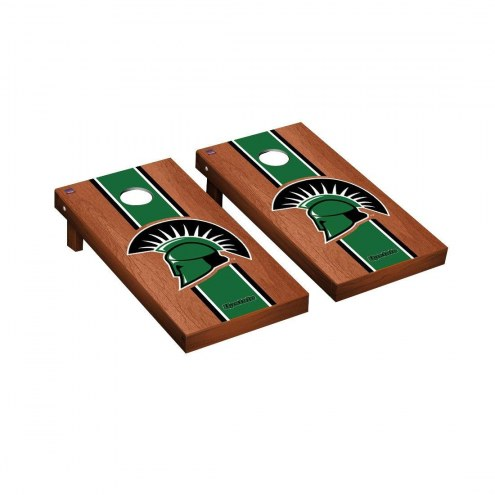 USC Upstate Spartans Rosewood Stained Stripe Cornhole Game Set