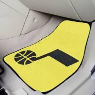Utah Jazz 2-Piece Carpet Car Mats