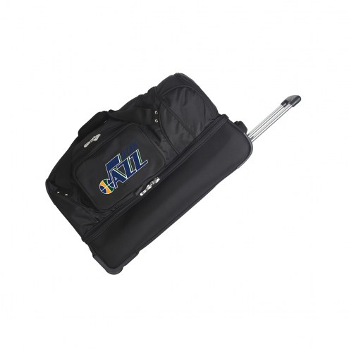 "Utah Jazz 27"" Drop Bottom Wheeled Duffle Bag"