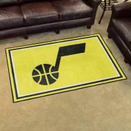 Utah Jazz 4' x 6' Area Rug