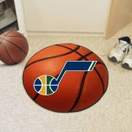 Utah Jazz Basketball Mat