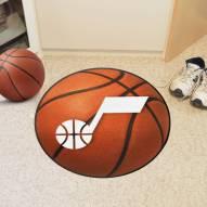 Utah Jazz Basketball Mat