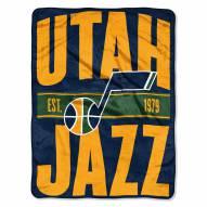 Utah Jazz Clear Out Throw Blanket