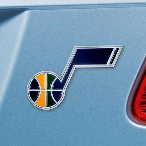 Utah Jazz Color Car Emblem