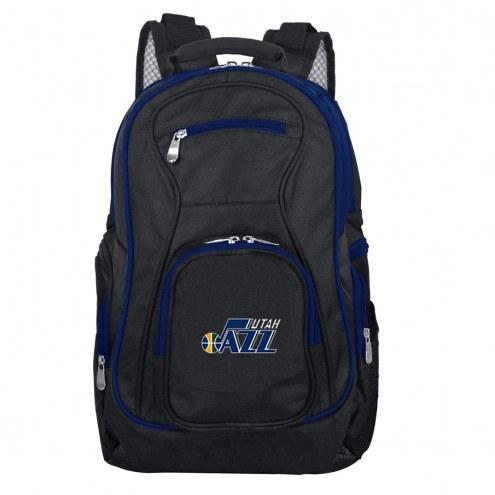 NBA Utah Jazz Colored Trim Premium Laptop Backpack
