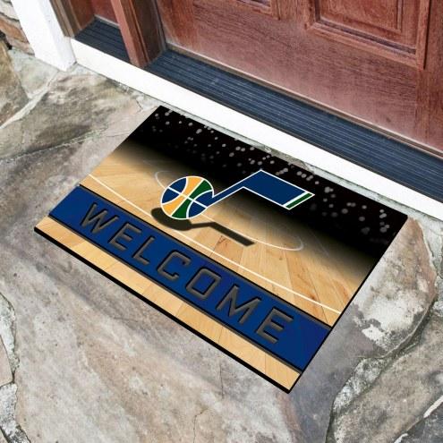 Utah Jazz Crumb Rubber Door Mat