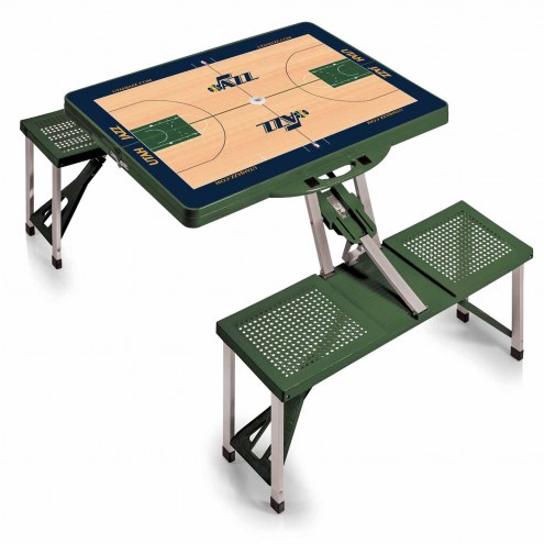Utah Jazz Folding Picnic Table