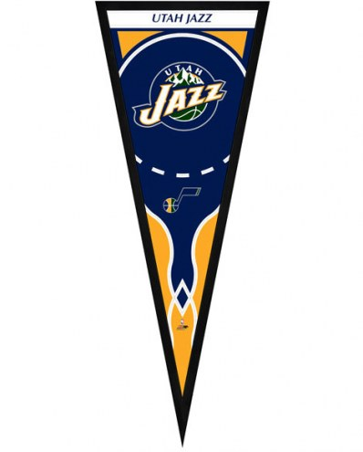 Utah Jazz Framed Pennant