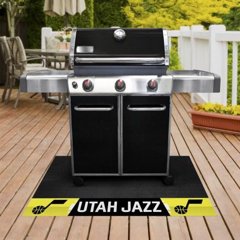 Utah Jazz Grill Mat