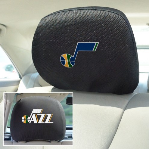 Utah Jazz Headrest Covers