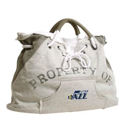 Utah Jazz Hoodie Tote Bag