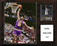"Utah Jazz Karl Malone 12"" x 15"" Player Plaque"