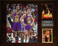 "Utah Jazz Karl Malone John Stockton 12"" x 15"" Player Plaque"