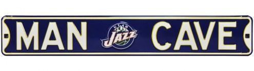 Utah Jazz Man Cave Street Sign