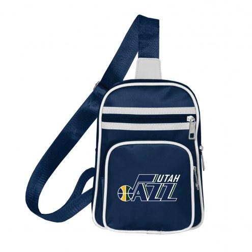 Utah Jazz Mini Cross Sling Bag