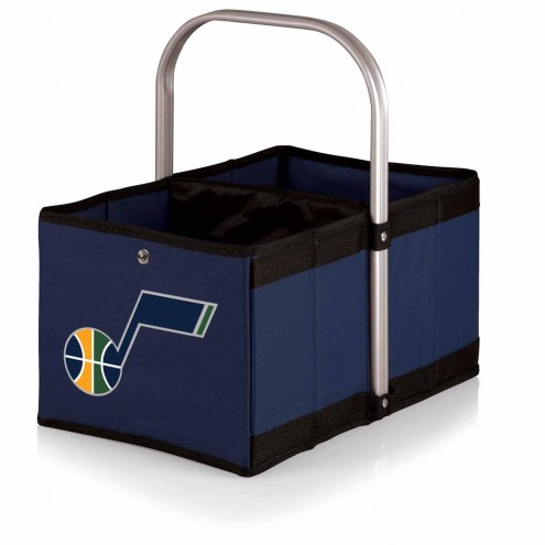 Utah Jazz Navy Urban Picnic Basket