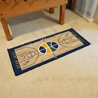 Utah Jazz NBA Court Runner Rug