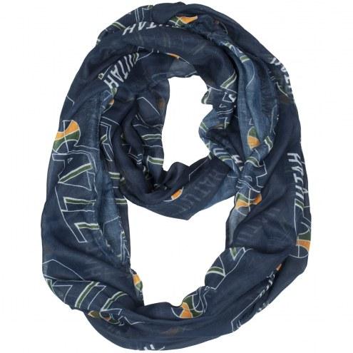 Utah Jazz Sheer Infinity Scarf