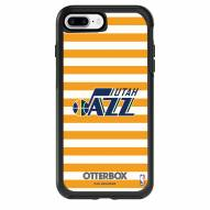 Utah Jazz OtterBox iPhone 8 Plus/7 Plus Symmetry Stripes Case