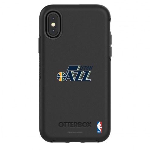 Utah jazz OtterBox iPhone X/Xs Symmetry Black Case