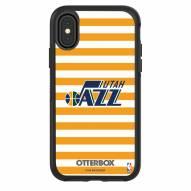 Utah Jazz OtterBox iPhone X/Xs Symmetry Stripes Case