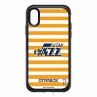 Utah Jazz OtterBox iPhone XR Symmetry Stripes Case