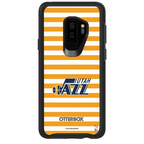 Utah Jazz OtterBox Samsung Galaxy S9+ Symmetry Stripes Case