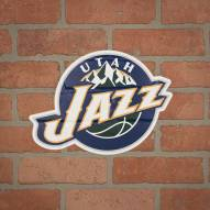 Utah Jazz Outdoor Logo Graphic